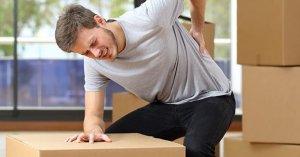 کمربند محافظ برای جلوگیری از آسیب هنگام بلند کردن اجسام